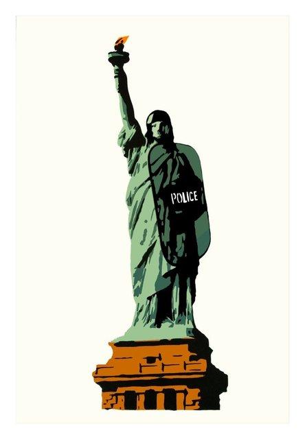 Plastic Jesus, 'Liberty', 2015, Vintage Deluxe