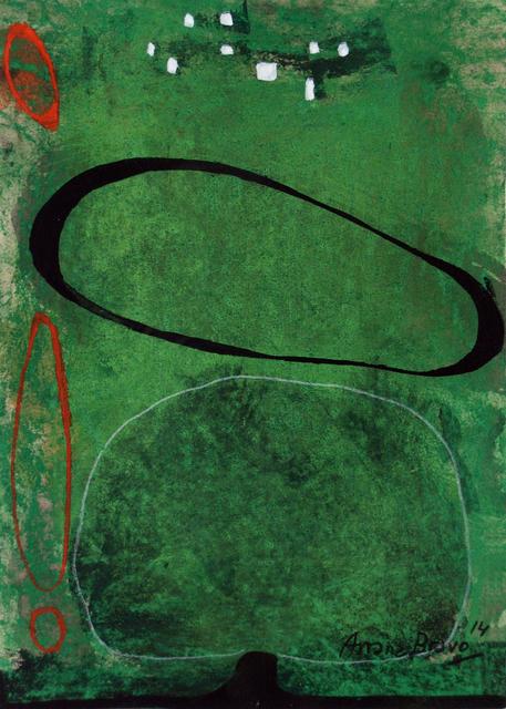 , 'Green-Green 2,' 2014, Matthew Liu Fine Arts
