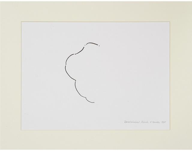 , 'Desire Lines / Dschalalabad - Zurich,' 2013, A|B|C ontemporary