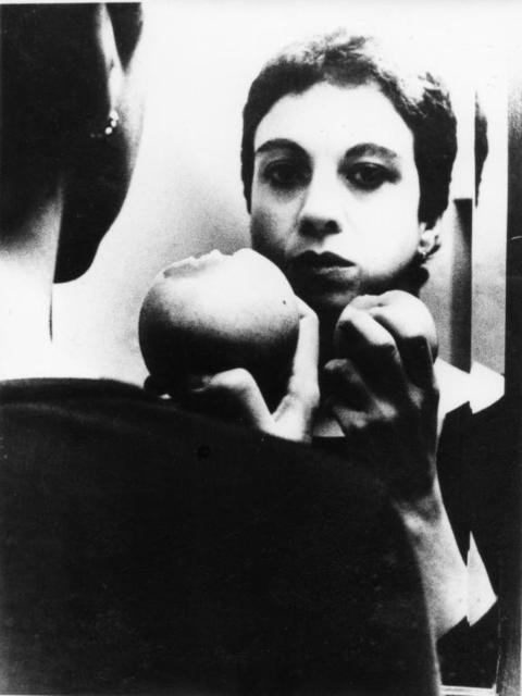 , 'Me eating an Apple,' 1980, Ana Mas Projects
