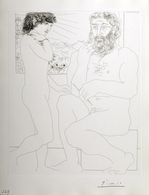 , 'Sculpteur et Modele Debout,' 1933, Odon Wagner Gallery