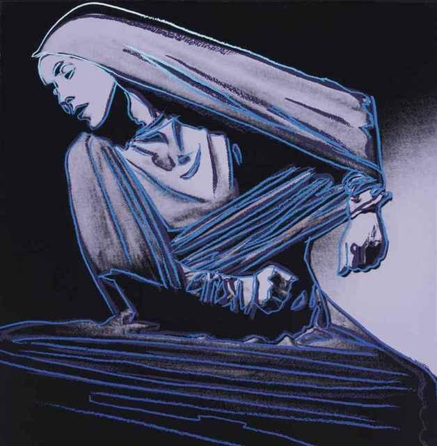 Andy Warhol, 'Lamentation (FS II.388)', 1986, Print, Screenprint on Lenox Museum Board., Revolver Gallery