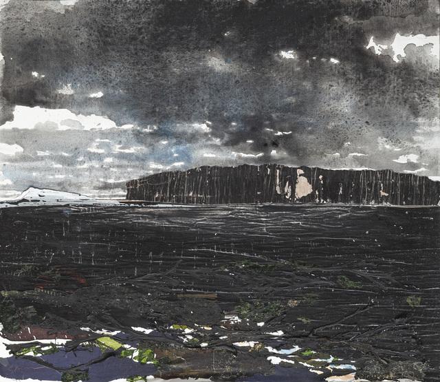 Gottfried Salzmann, 'La falaise noire', 2019, Galerie Arcturus
