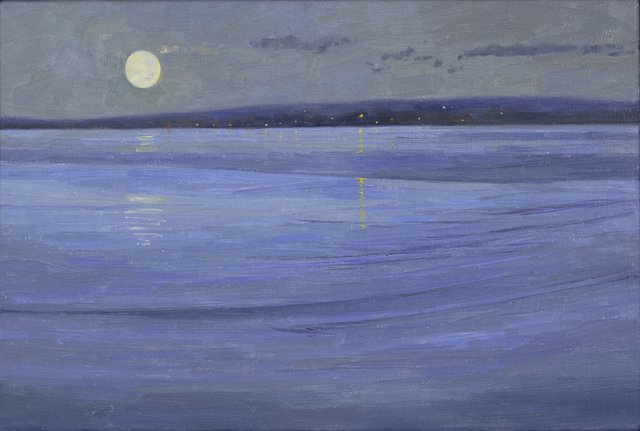 Shane Jones, 'Pale Moon', 2018, Charles Nodrum Gallery