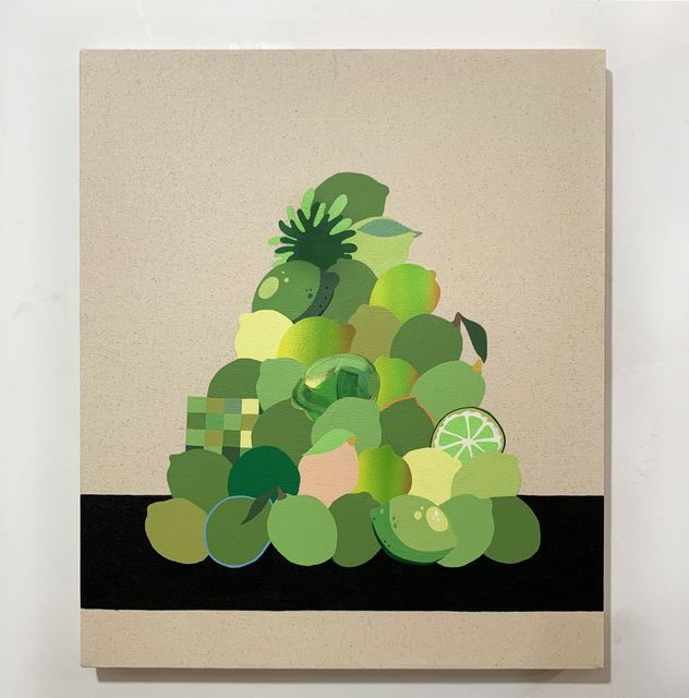 Stephen D'Onofrio, 'Still life with Stacked Limes ', 2019, Galleri Urbane