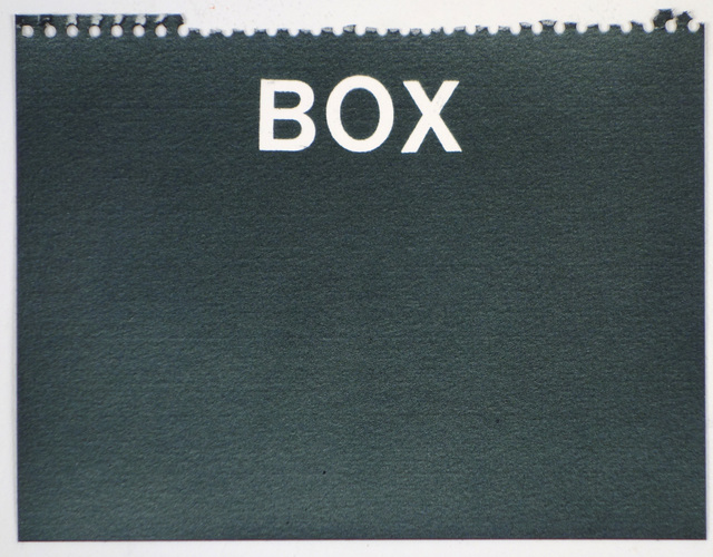 , 'Box (black),' , Rodolphe Janssen
