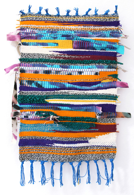 , 'First Weaving (Over Easy),' 2016, Ochi Projects