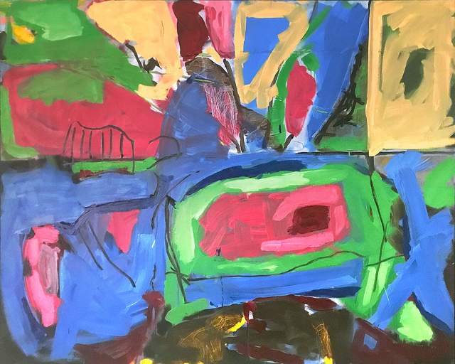 , 'Pink Flowers,' , Exhibit No. 9