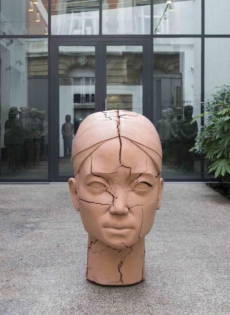 , 'Cracked Head,' 2016, Templon