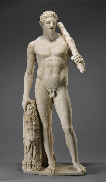 'Statue of Hercules (Lansdowne Herakles)', ca. 125, J. Paul Getty Museum
