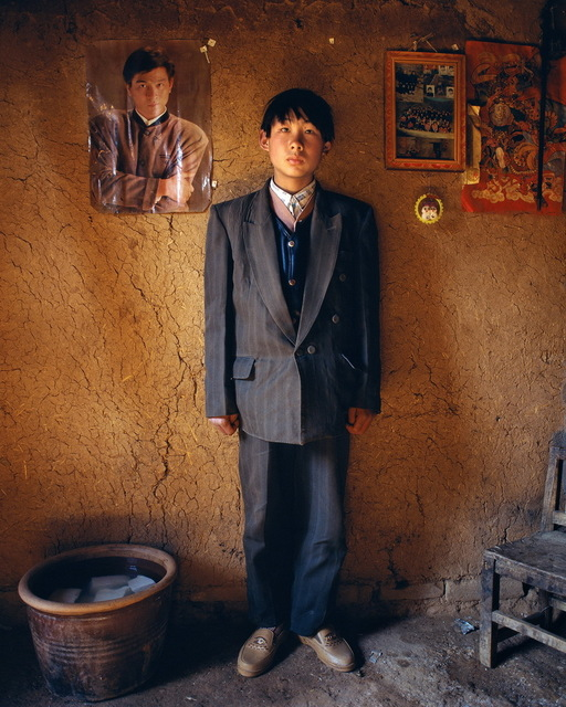 , 'Zhao Weidong, 16 year-old, at Yugong Village, Wangwu Township of Jiyuan County,' 1997, Galerie Julian Sander