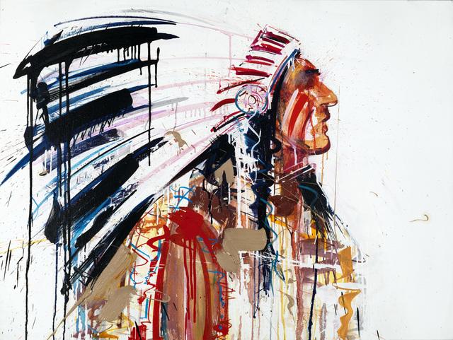 Dave White, 'Warrior III Colour Silkscreen', Visions West Contemporary