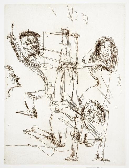 , 'Inspiration,' 2012, Cicada Press