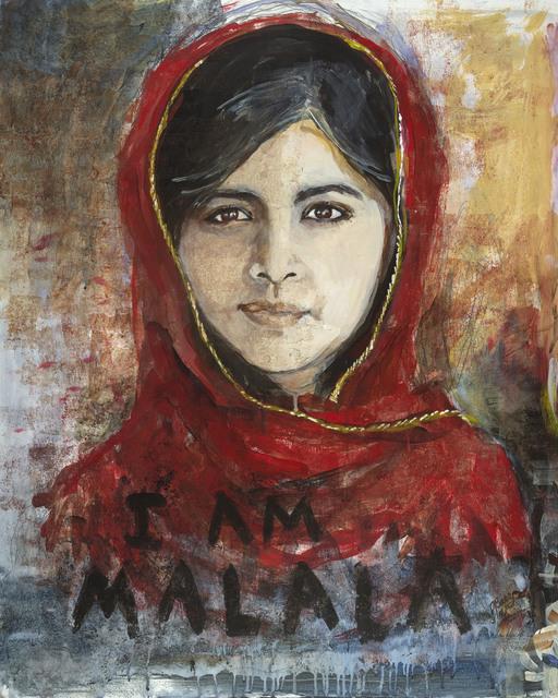 , 'Malala Yousafzai,' 2017, Seager Gray Gallery