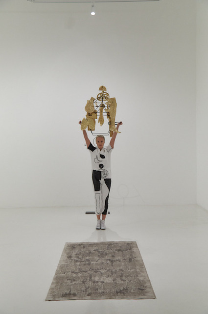 , 'From the performance: We Always Carry Our Body,' 2018, Zilberman Gallery