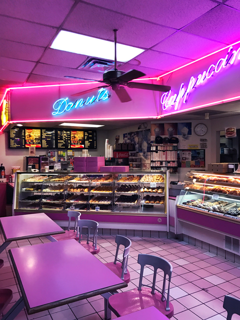 , '3 AM: Donut Shop on the Edge of the Hollywood Hills (Night of the Muslim Ban) January 28, 2017,' 2017, Annka Kultys Gallery