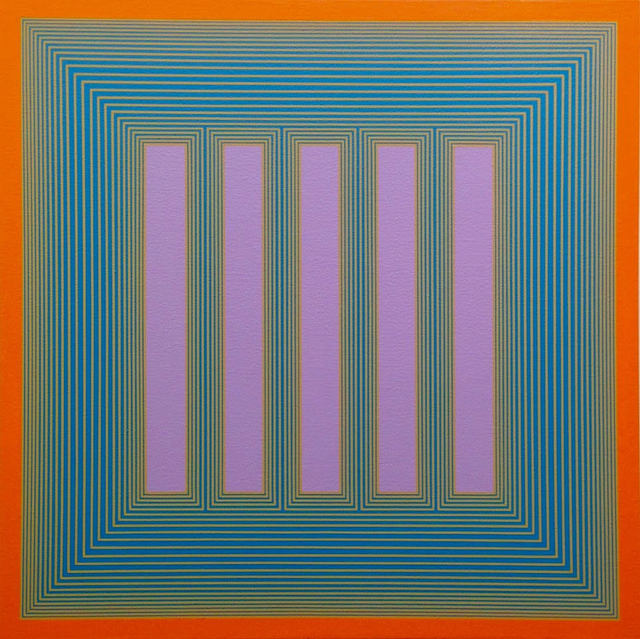 , 'Temple of Lavender with Orange,' , Loretta Howard Gallery