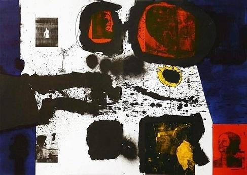 Jamal Abdul Rahim, 'Dark Colors', 2013, Print, Lithograph, Orient Gallery