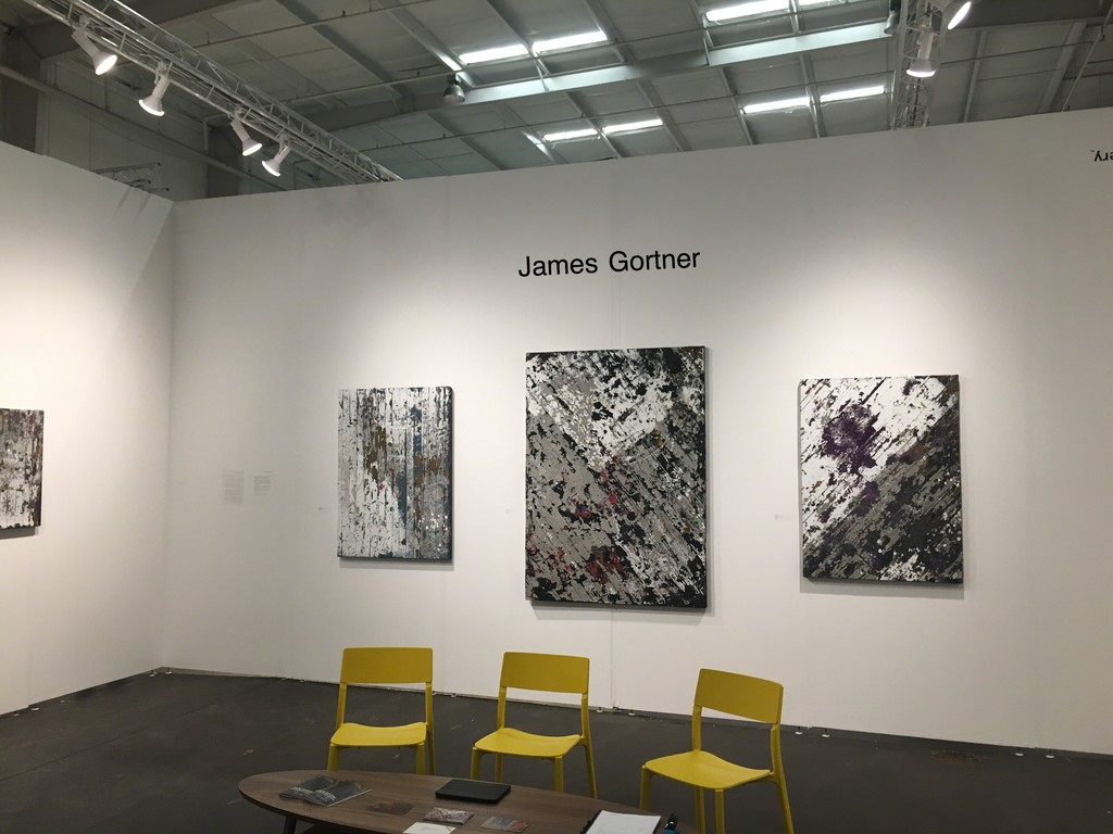 James Gortner's one day solo show at Houston Art Fair on October 2nd