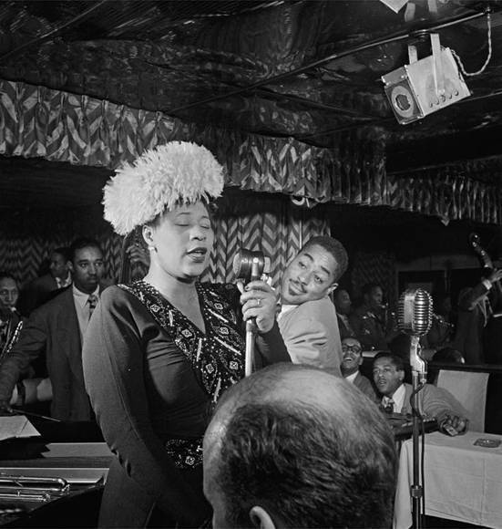 , ' Portrait of Ella Fitzgerald & Dizzy Gillespie, NYC,' 1947, Gallery 270