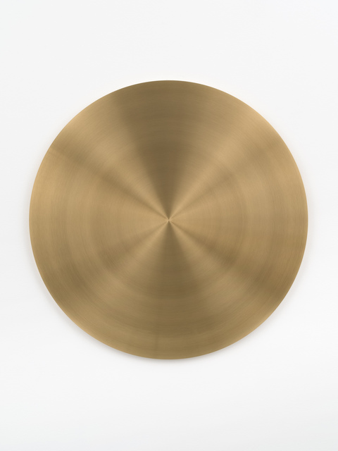 , 'Brass Disc,' 2010-2017, Bortolami