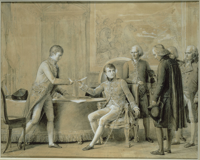 , 'La Signature du Concordat aux Tuileries 15 juillet 1801 (The Signing of the Concordat at the Tuileries, 15 July 1801),' 1803-1804, Château de Fontainebleau