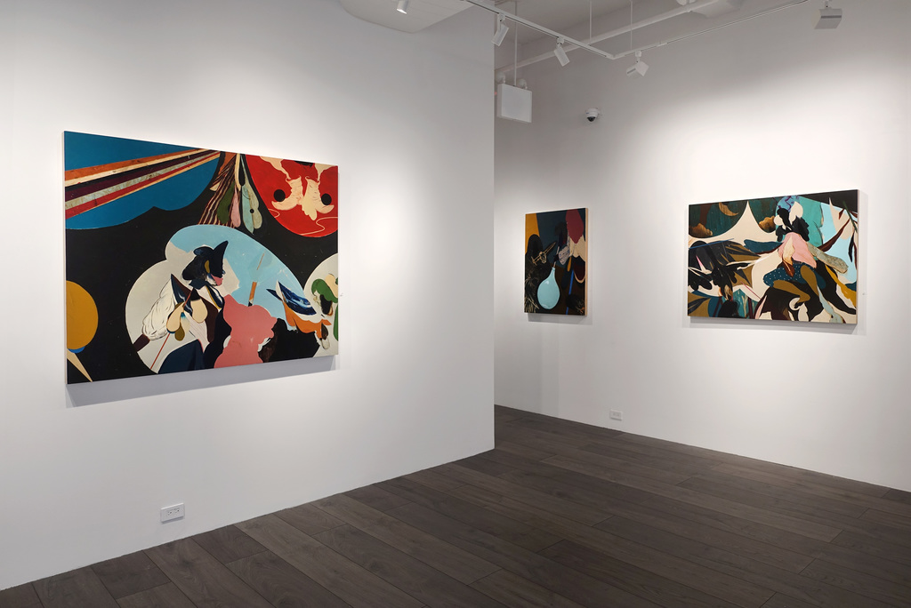 Installation view: Kenichi Hoshine: The Magician and The Thief
