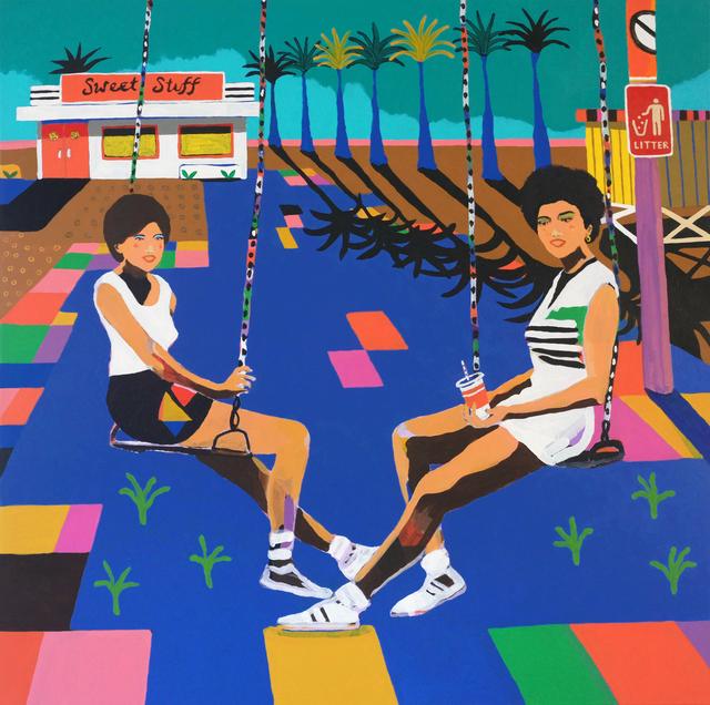 Alan Fears, 'Swingers', 2021, Painting, Acrylic on Canvas, Fears and Kahn