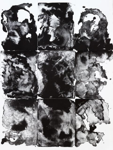 , 'organism (e),' 2016, galerie burster