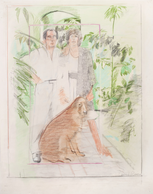 , 'Untitled (Joe and Patsy LoGuidice at the Casa Luna),' ca. 1970-1975, Thomas French Fine Art