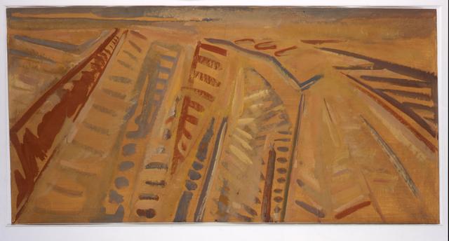 , 'Les labours en Beauce,' 1969, Jeanne Bucher Jaeger