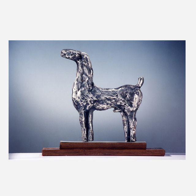 Marino Marini, 'Piccolo Cavallo (Small Horse)', 1973, Sculpture, Solid cast silver, Artsy x Rago/Wright