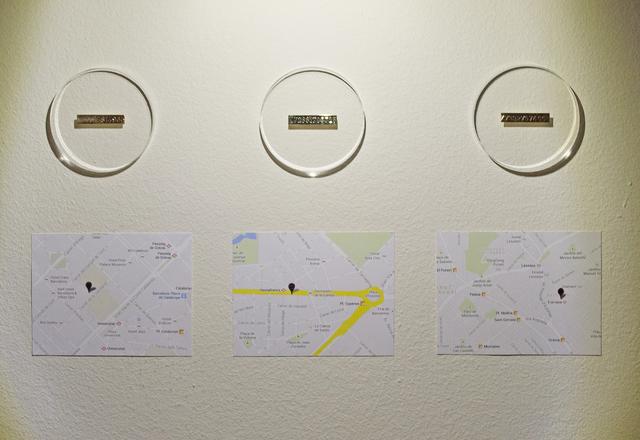 , 'Relación de intercambio (50 x 50),' 2014, Galeria Senda