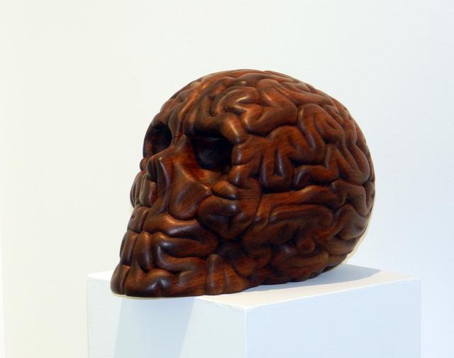 """, '""""Skull Brain Wood"""",' 2018, 3 Punts Galeria"""