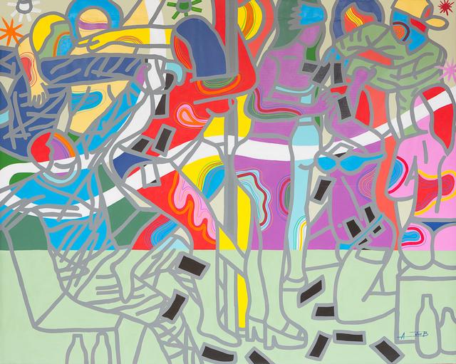 , 'Farotage dey sock sock,' 2017, Jack Bell Gallery