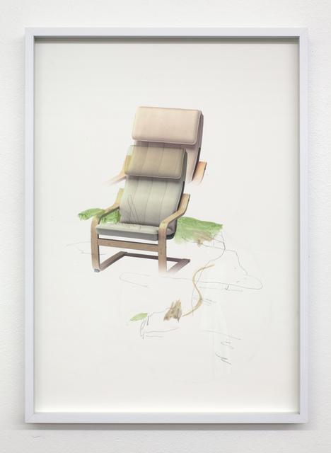 , 'Untitled (POÄNG),' 2018, David Risley Gallery