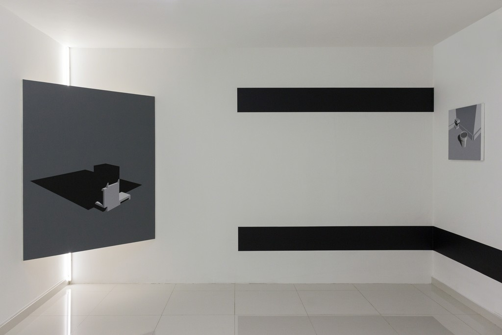 Left to right: Alberto Lezaca — Vibraciones improbables (2015) / Vibraciones improbables (2016)