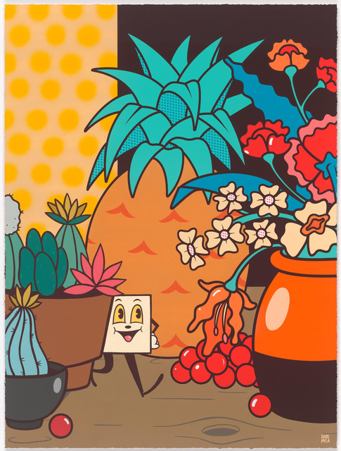 , 'Still Life With Acid & Cactus,' 2015, Gastman