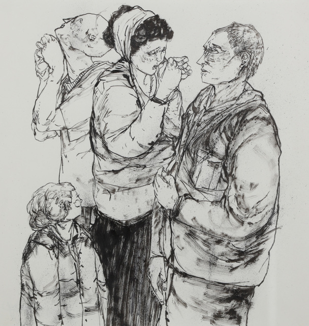Armsrock, 'Group Of People', Chiswick Auctions