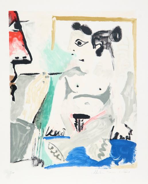 Pablo Picasso, 'Le Peintre et son Modèle, 1964', 1979-1982, RoGallery