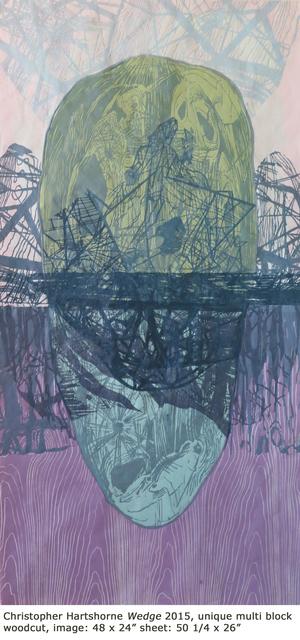 , 'Bouyant Wedge,' 2015, Dolan/Maxwell