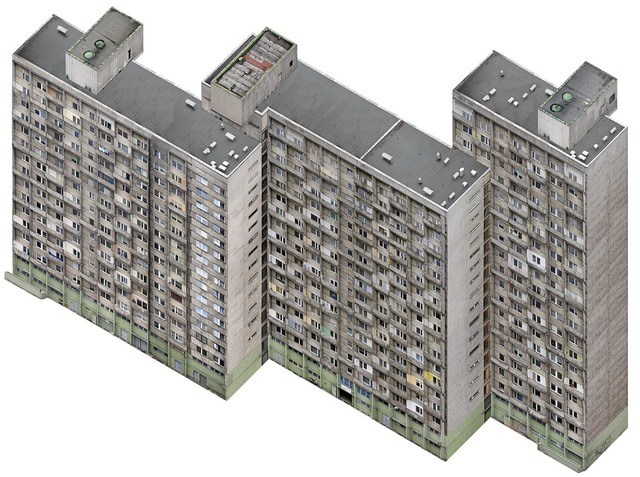 , 'Axonometric Housing Estate, Manhattan,' 2007, Alarcón Criado