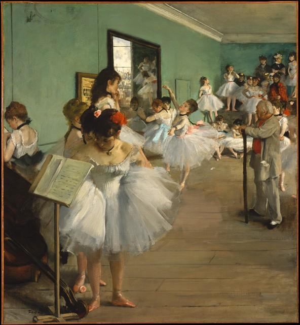 Edgar Degas, 'The Dance Class', 1874, The Metropolitan Museum of Art