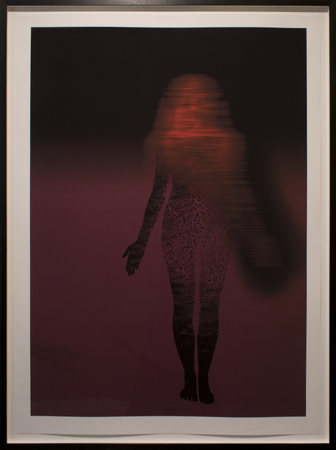 , 'Water Woman Violet Shadow,' 2005, Anglim Gilbert Gallery