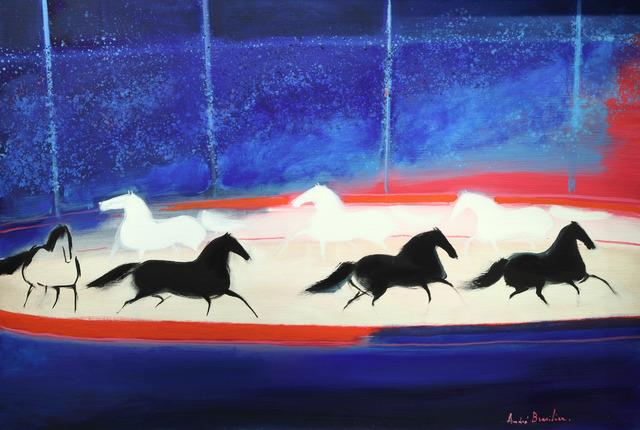 , 'Cavalcade dans le cirque,' 1989, Opera Gallery
