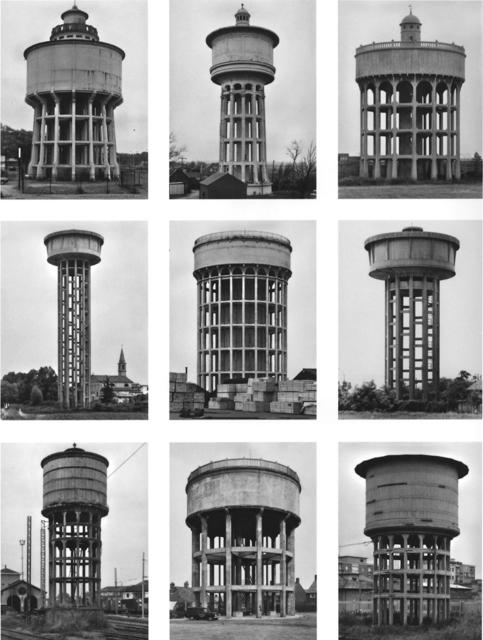 , 'Typology Watertowers,' 1967-1997, Konrad Fischer Galerie
