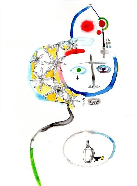 Wole Lagunju, 'Vicar's Vice', 2017, Ed Cross Fine Art