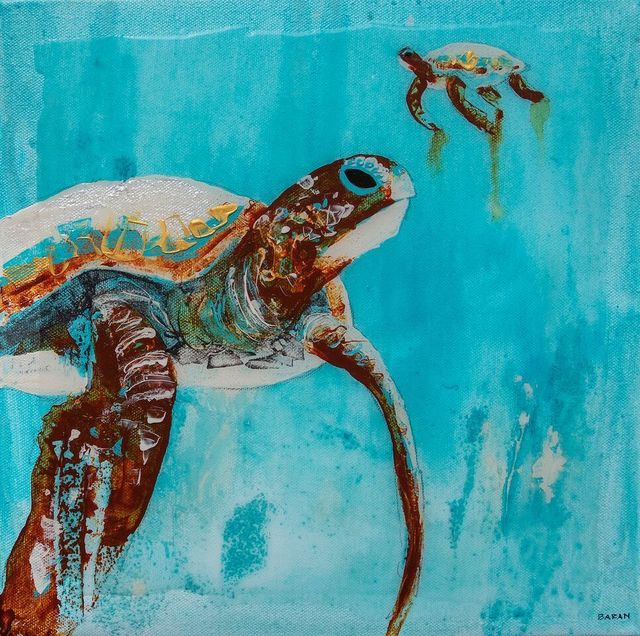 , 'Sea Turtle Pair,' 2010-2018, Eisenhauer Gallery