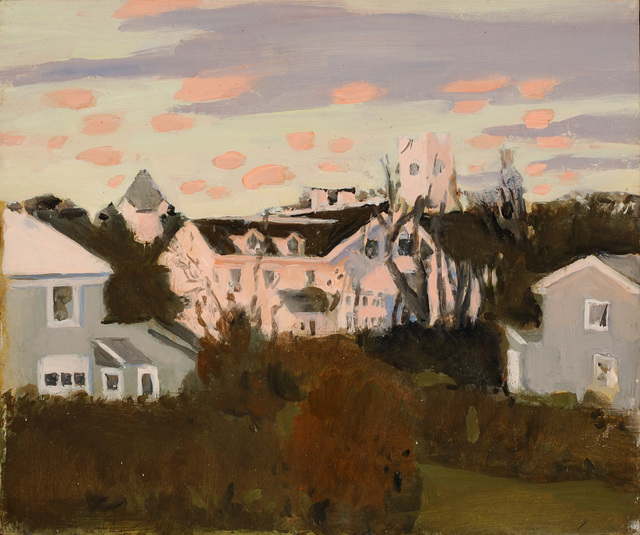 Fairfield Porter, 'Sunset, Southampton,', 1967, Parrish Art Museum