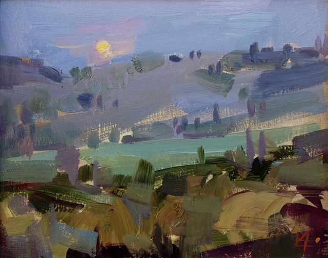 , 'Moonrise,' 2018, Meyer Vogl Gallery